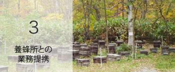 養蜂所との業務提携